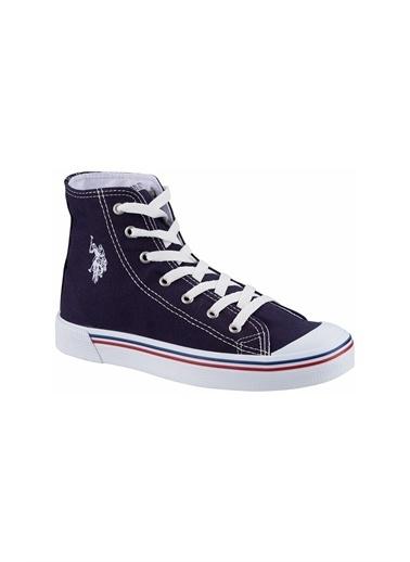 U.S. Polo Assn. Penelope High 1Fx Kadın Havuz n Sneaker Lacivert